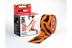Rocktape, design / Кинезиологический тейп 5x5 см Тигр, Медицина - в интернет магазине спортивных товаров Tri-sport!