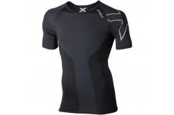 2XU Elite Compression S / S Top / Мужская компрессионная элитная футболка с короткими рукавами, Футболки и кофты - в интернет магазине спортивных товаров Tri-sport!