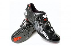 SIDI WIRE Carbon / Велотуфли белый красный лакированный@, Велоаксессуары - в интернет магазине спортивных товаров Tri-sport!