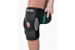 SELF ADJ HINGED KNEE BRACE GREEN ML / Бандаж на колено, Колено - в интернет магазине спортивных товаров Tri-sport!