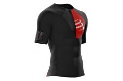 Compressport Postural Aero Top / Мужская компрессионная стартовая футболка для триатлона