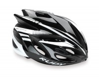 Каска Rudy Project RUSH BLACK/WHITE SHINY S