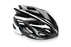 Rudy Project Rush Black/White Shiny S / Шлем, Шлемы шоссейные - в интернет магазине спортивных товаров Tri-sport!