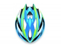 Каска Rudy Project RUSH BLUE-LIME FLUO SHINY M