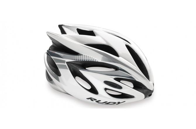 Каска Rudy Project RUSH WHITE/SILVER SHINY M, Шлемы - в интернет магазине спортивных товаров Tri-sport!