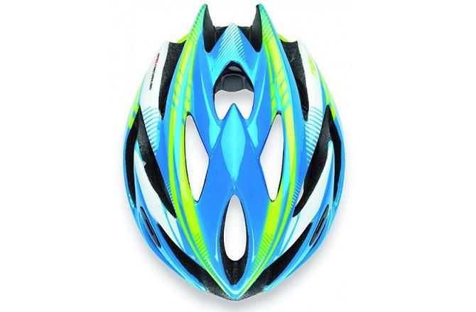 Каска Rudy Project RUSH BLUE-LIME FLUO SHINY L, Шлемы - в интернет магазине спортивных товаров Tri-sport!