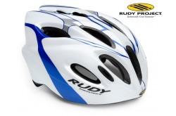 Rudy Project Snuggy White/Blue/Silver Shiny L / Шлем, Шлемы - в интернет магазине спортивных товаров Tri-sport!