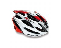 Каска Rudy Project STERLING MTB WHITE-RED FLUO SHINY S/M