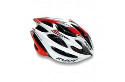 Rudy Project Sterling Mtb White-Red Fluo Shiny S/M / Шлем, Шлемы - в интернет магазине спортивных товаров Tri-sport!