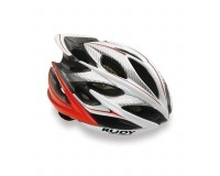 Каска Rudy Project WINDMAX WH/RED FLUO SHINY L