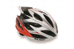 Rudy Project Windmax Wh/Red Fluo Shiny S/M + 2 Визора+Чехол / Шлем, Шлемы шоссейные - в интернет магазине спортивных товаров Tri-sport!