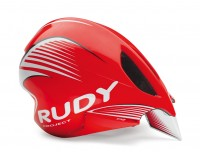 Rudy Project WING57 RED FLUO/WHITE SHINY S-M / Каска