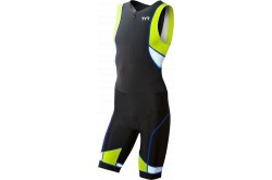 TYR Men'S Competitor Tri Suit Front Zip / Стартовый костюм без рукавов с молнией спереди,  в интернет магазине спортивных товаров Tri-sport!
