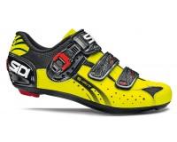 Велотуфли SIDI GENIUS 5-FIT Carbon черный желтый fluo