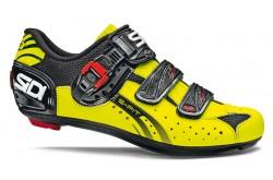 Велотуфли SIDI GENIUS 5-FIT Carbon черный желтый fluo, Для шоссе - в интернет магазине спортивных товаров Tri-sport!