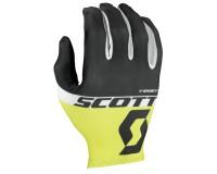 Scott RC Team д/пал black/sulphur yellow / Перчатки