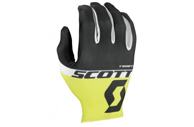 Scott RC Team д/пал black/sulphur yellow / Перчатки, Перчатки - в интернет магазине спортивных товаров Tri-sport!