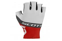 Scott RC Team к/пал white/red / Перчатки, Перчатки - в интернет магазине спортивных товаров Tri-sport!