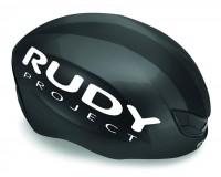 Rudy Project Boost Pro Black Shiny - White Matt S/M / Шлем