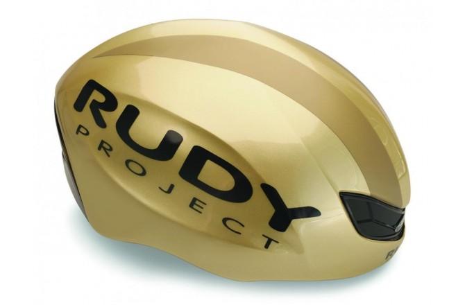 Rudy Project Boost Pro Gold Shiny S/M / Шлем, Шлемы шоссейные - в интернет магазине спортивных товаров Tri-sport!