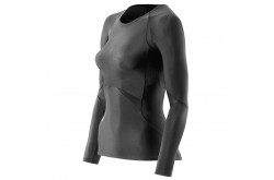 Skins Bio RY400 Womens Black Top Long Sleeve / Футболка с длинным рукавом женская, Компрессионные футболки - в интернет магазине спортивных товаров Tri-sport!