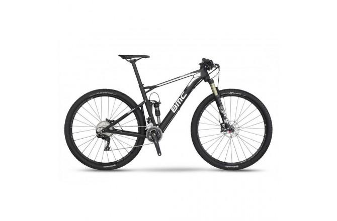 Велосипед MTB BMC Fourstroke FS02 XT White 2017, Двухподвесы - в интернет магазине спортивных товаров Tri-sport!
