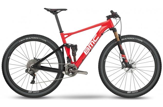 BMC Fourstroke 01 XTR red/white/black 2018 / Велосипед MTB, Двухподвесы - в интернет магазине спортивных товаров Tri-sport!