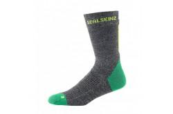 SealSkinz MTB Trail Mid, lime  / Носки унисекс, Шапки, перчатки, носки - в интернет магазине спортивных товаров Tri-sport!