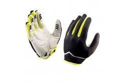 SealSkinz Madeleine Classic, black/hi vis yellow / Перчатки унисекс, Шапки, перчатки, носки - в интернет магазине спортивных товаров Tri-sport!