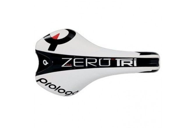Prologo ZERO TRI PAS TIROX WHITE /BLACK 136 / Седло, Седла - в интернет магазине спортивных товаров Tri-sport!