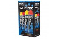SIS Whey20, 4x78g клубника-лимон, Восстановительные препараты - в интернет магазине спортивных товаров Tri-sport!