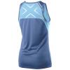 Женская майка для бега 2XU / Голубой-синий, Футболки, майки, топы - в интернет магазине спортивных товаров Tri-sport!
