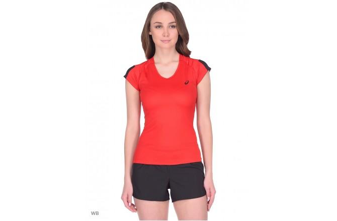 ASICS SS TEE INDOOR 2 (W) / Футболка женская, Футболки, майки, топы - в интернет магазине спортивных товаров Tri-sport!
