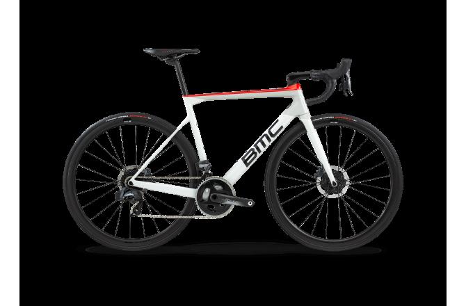 BMC Teammachine SLR01 Disc THREE White/black/red SRAM Force AXS 2020 / Шоссейный велосипед, Шоссейные - в интернет магазине спортивных товаров Tri-sport!