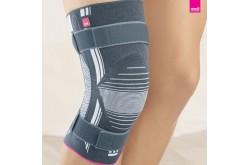 GENUMEDI III wide / Бандаж коленный с силикон. пателлярным кольцом на полное бедро - серый, Колено - в интернет магазине спортивных товаров Tri-sport!