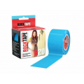 Rocktape H2O 5cm x 5m / Кинезиологический тейп экстра-водостойкий голубой