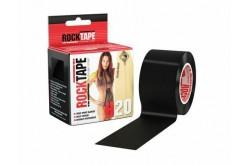 Rocktape H2O 5cm x 5m / Кинезиологический тейп экстра-водостойкий черный