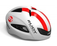Каска Rudy Project BOOST 01 WHITE/RED FLUO SHINY L