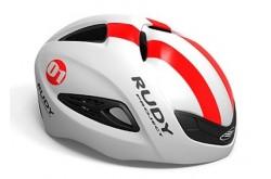 Каска Rudy Project BOOST 01 WHITE/RED FLUO SHINY S/M, Шлемы - в интернет магазине спортивных товаров Tri-sport!