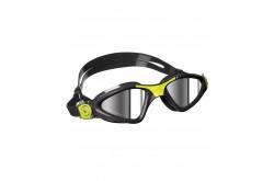 Aqua Sphere Kayenne, зеркальные линзы, Black/Lime, Очки для открытой воды и тренировок - в интернет магазине спортивных товаров Tri-sport!