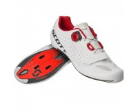 Scott Road Vertec Boa white/red  / Велотуфли шоссейные