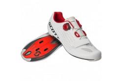 Scott Road Vertec Boa white/red  / Велотуфли шоссейные