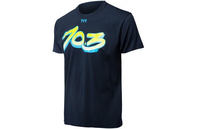 TYR Graffiti 70.3 Tee / Футболка мужская, Короткий рукав - в интернет магазине спортивных товаров Tri-sport!