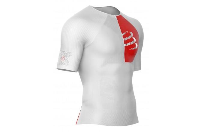 Compressport Postural Aero Top / Мужская компрессионная стартовая футболка для триатлона, Стартовые костюмы - в интернет магазине спортивных товаров Tri-sport!