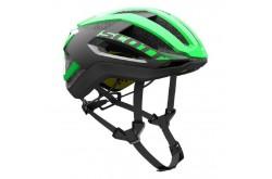 Scott Centric PLUS green flash/black / Шлем SCT17, Шлемы - в интернет магазине спортивных товаров Tri-sport!