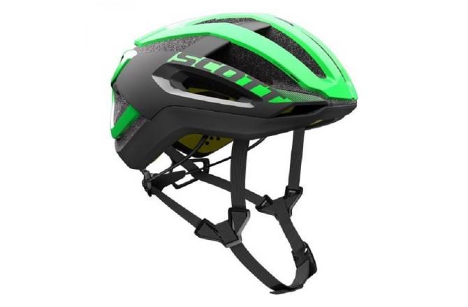 Scott Centric PLUS green flash/black / Шлем велосипедный, Шлемы шоссейные - в интернет магазине спортивных товаров Tri-sport!