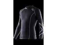 Компрессионная футболка мужская 2XU Men's Elite Compression Top L/S