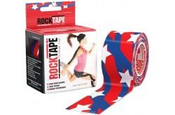 Rocktape 5x5 см Американский флаг / Кинезиологический тейп, Медицина - в интернет магазине спортивных товаров Tri-sport!