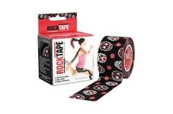Rocktape 5x5 см Череп и цветы / Кинезиологический тейп, Медицина - в интернет магазине спортивных товаров Tri-sport!