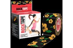 Rocktape 5x5 см Череп желтыми цветами / Кинезиологический тейп, Медицина - в интернет магазине спортивных товаров Tri-sport!